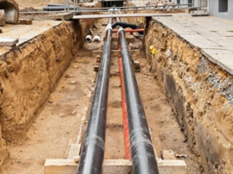 Przyłącza wodne, gazowe ikanalizacyjne orazinne prace zewnętrzne